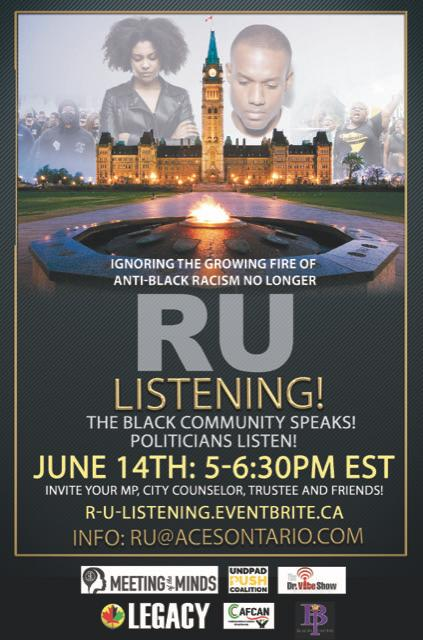 RU:Listening! Black People Speak! Politicians Listen!