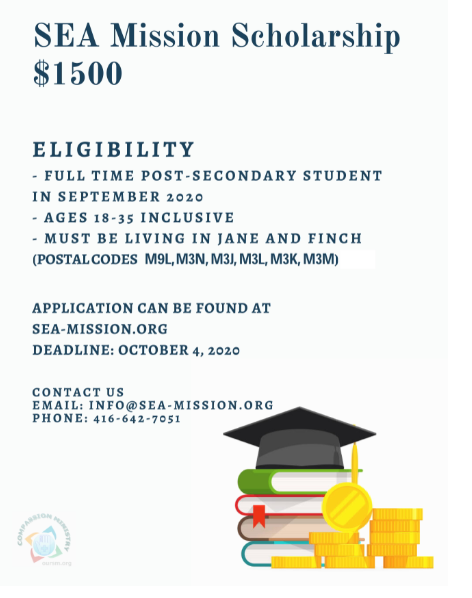 SEA Mission Scholarships and Awards Application